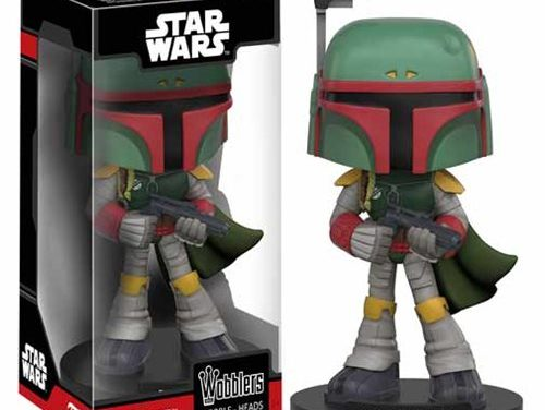 Previews of the new Princess Leia and Boba Fett Wobblers by Funko