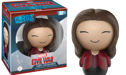 New Captain America: Civil War Scarlett Witch Dorbz to be Released this Fall