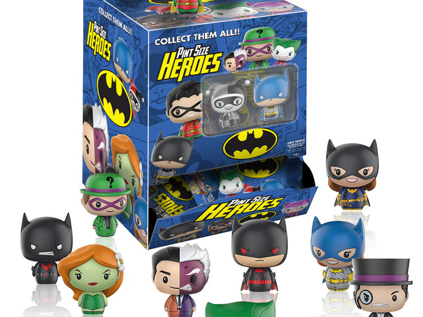New DC Comics and Steven Universe Pint Size Heroes by Funko Coming Soon!