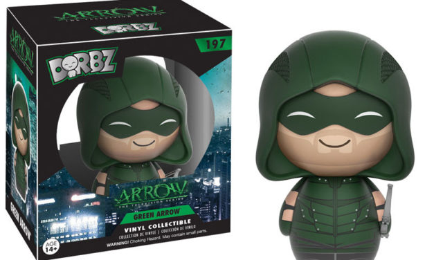 New Arrow and Flash Dorbz to be released this Fall