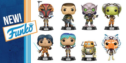 New Star Wars Rebels Pop! Vinyl Collection Coming this Fall!
