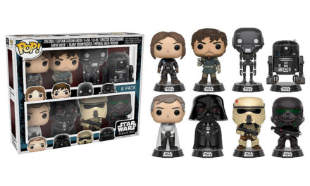 New Disney Store Star Wars: Rogue One Pop! Vinyl Set of 8 Released in the UK!