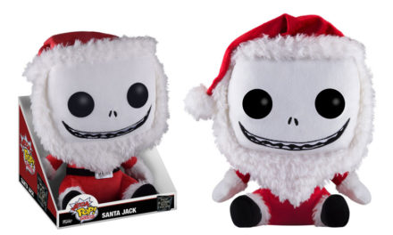 Previews of the new The Nightmare Before Christmas Mega Pop! Plush by Funko