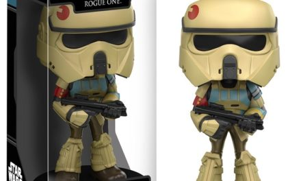 Previews of the upcoming Star Wars: Rogue One Wacky Wobblers