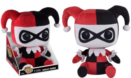New Mega Pop! Plush: Batman & Harley Quinn and Super Deluxe Harley Quinn Vinyl Coming Soon!