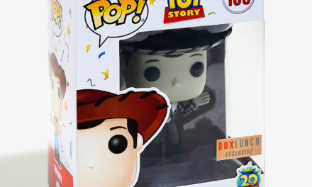 New BoxLunch Exclusive Black and White Woody Pop! Vinyl Now Available Online!