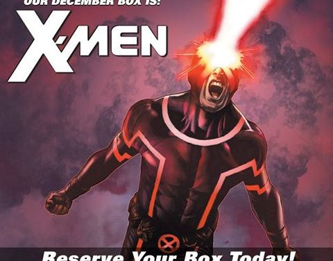 Marvel's X-Men Theme Announced for the December Collectors Corp Box