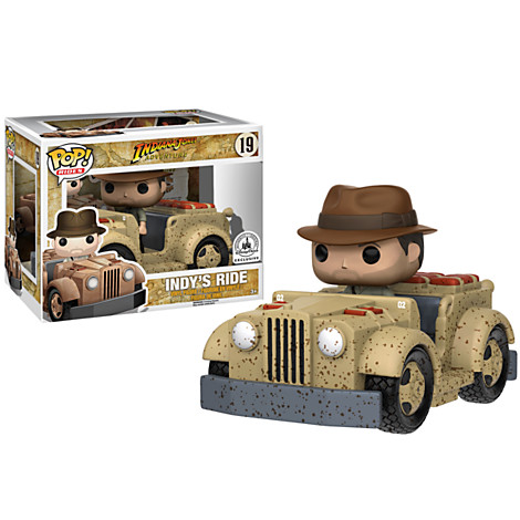 New NYCC/Disney Parks Exclusive Indiana Jones Pop! Ride Now Available