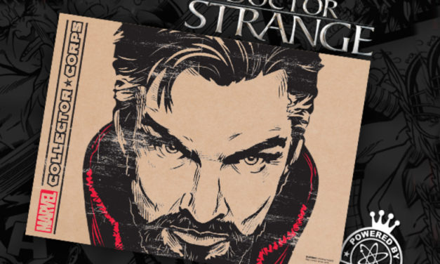 Review of the New Collectors Corp: Dr. Strange Box by Funko (SPOILERS!)
