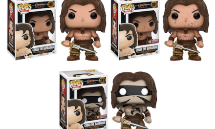 New Conan the Barbarian and Red Sonja Pop! Vinyls Coming Soon!