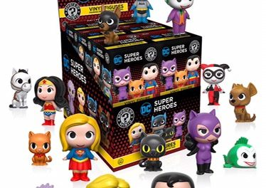 New DC Comics Super Heroes and Pets Mystery Minis Coming Soon!