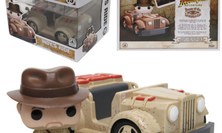 Disney Parks Exclusive Indy's Ride Pop! Ride by Funko to be Released Oct. 7