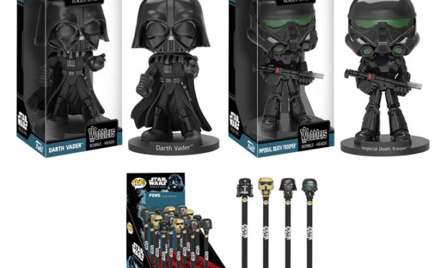 New Star Wars: Rogue One Wobblers and Pop! Pens by Funko Coming Soon!