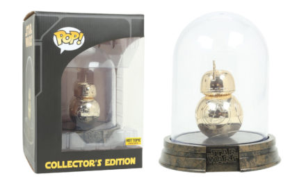 New Hot Topic Exclusive Black Friday Golden BB-8 Pop! Vinyl Now Available Online!