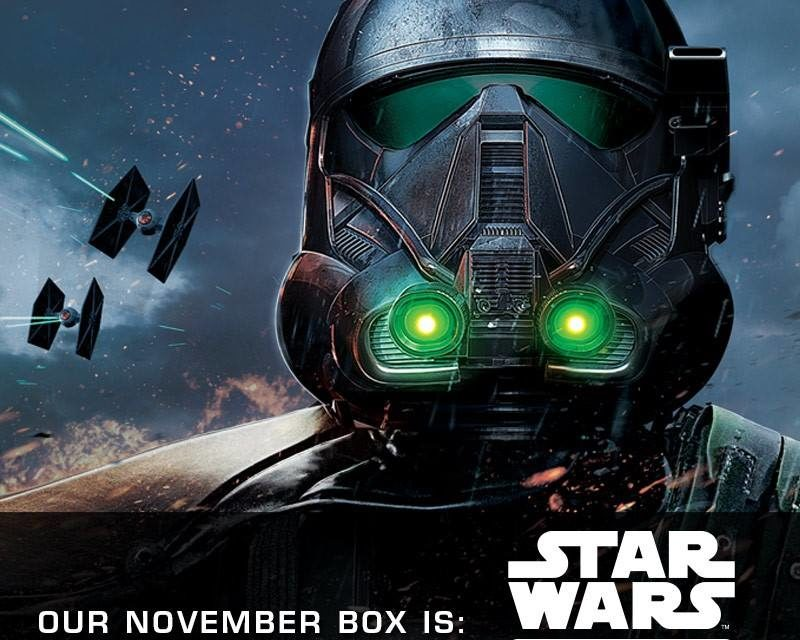 Review of the new Star Wars Smugglers Bounty: Rogue One Box by Funko (Spoilers)