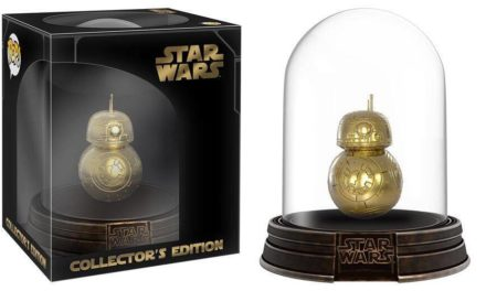Funko Reveals Upcoming Hot Topic Exclusive Black Friday Gold BB-8 with Collectible Dome!