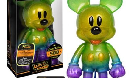 Preview of the new Mickey Mouse Grape Soda Hikari Sofubi Vinyl Figure by Funko!