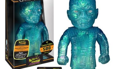 New Game of Thrones Ice Night King Hikari Sofubi Vinyl Figure Coming Soon!