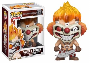 New Twisted Metal Sweet Tooth Pop! Vinyl Coming Soon!