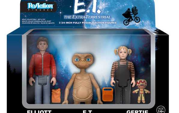 New E.T. ReAction Figure 3-Pack and EE Exclusive E.T. ReAction figure Coming Soon!