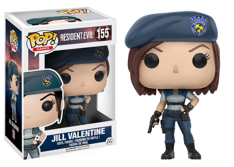 New Resident Evil Pop! Vinyl Collection to be released in January!