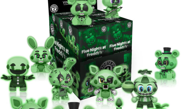 New Five Nights at Freddy's Figures and Mystery Minis to be released in December!