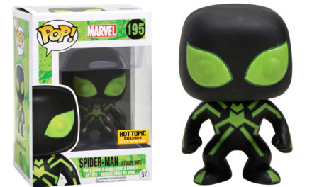 New Hot Topic Exclusive GITD Stealth Suit Spider-Man Pop! Now Available Online!