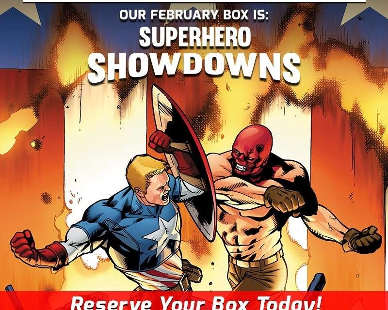 Superhero Showdowns Theme Announced for the February Collectors Corp Box