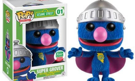 New Funko-Shop.com Exclusive Sesame Street FLOCKED SUPER GROVER Now Available!