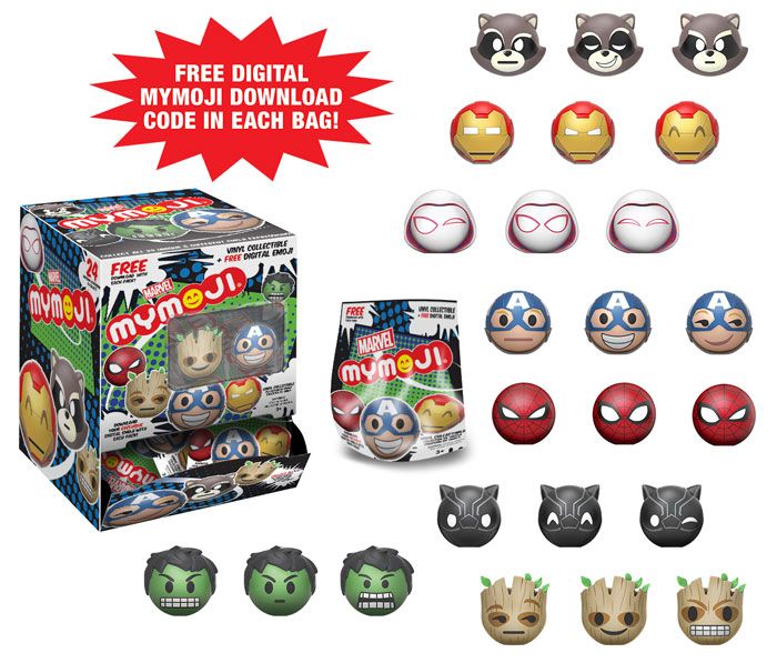 New Marvel Mymoji and Pop! Lanyards by Funko Coming Soon!