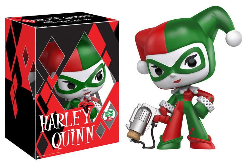New Funko-Shop.com Exclusive Holiday Harley Quinn Super Deluxe Vinyl Now Available!