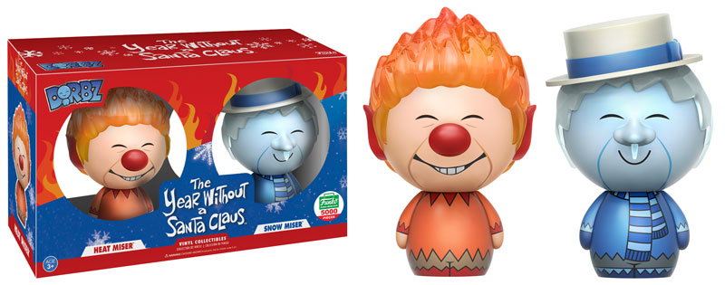 Funko 12 Days Of Christmas 2020 Final 12 Days of Christmas Funko Shop Exclusive, Heat Miser & Snow
