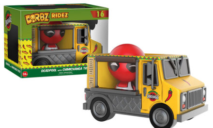New Deadpool with Chimichanga Truck Dorbz Ridez Coming Soon!