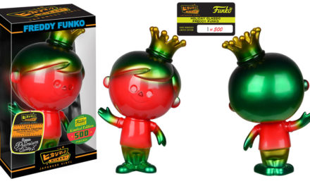 New Funko-Shop.com Exclusive Holiday Classic Freddy Funko Hikari Now Available!
