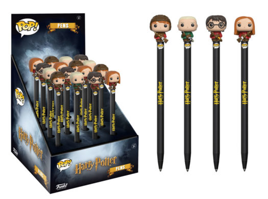 New Harry Potter Pop Keychains And Pop Pen Toppers