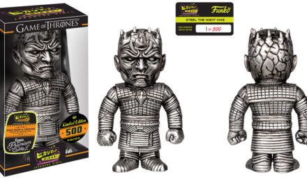 New Game of Thrones Steel the Night King Hikari Sofubi Vinyl Figure Coming Soon!