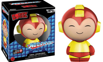 Preview of the new GameStop Exclusive Atomic Fire Mega Man Dorbz!