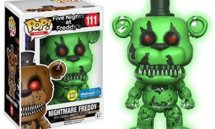Previews of the new Five Nights at Freddy's Exclusive Pop! Vinyls!