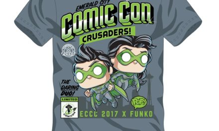 Pre-order the new ECCC Crusaders Funko Pop! T-Shirt plus preview of a 2017 ECCC Exclusive Pop!