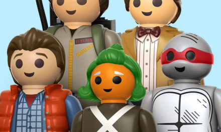 Previews of the new Playmobil + Funko Ghostbusters, Dr. Who, Back to the Future and TMNT Figures