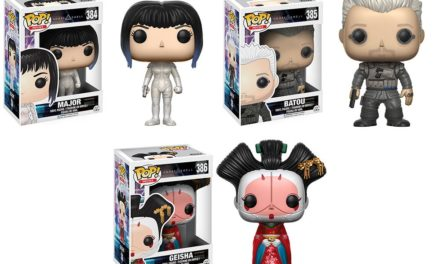 New Ghost in the Shell Pop! Collection to be Released in March!