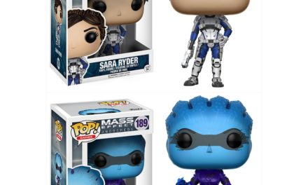 Previews of the new Mass Effect: Andromeda with Sara Ryder and Peebee Pop! Vinyls!
