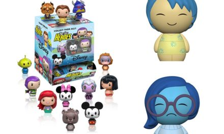 New Sadness and Joy Dorbz, Ratatouille Pops and Disney Pint Size Heroes Coming Soon!