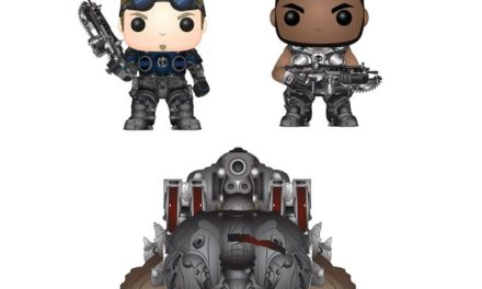 Previews of the upcoming Gears of War Wave 2 Pop! Vinyls!