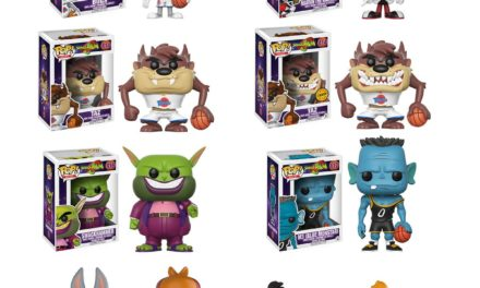 Previews of the upcoming Space Jam Pop! Vinyls and Looney Tunes Dorbz!