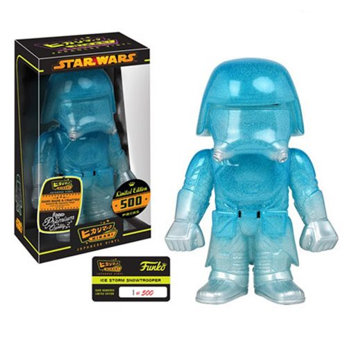Preview of the new Star Wars Ice Storm First Order Snowtrooper Hikari Sofubi Vinyl by Funko!