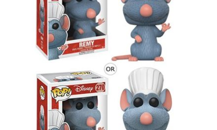 New Ratatouille Emile, Remy and Alfredo Linguini Pop! Vinyls Coming Soon!