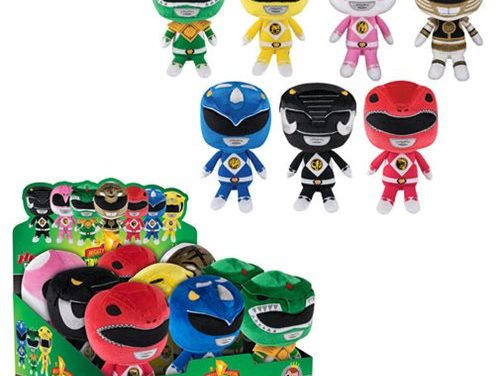 Previews of the new Mighty Morphin Power Rangers Hero Plushies by Funko