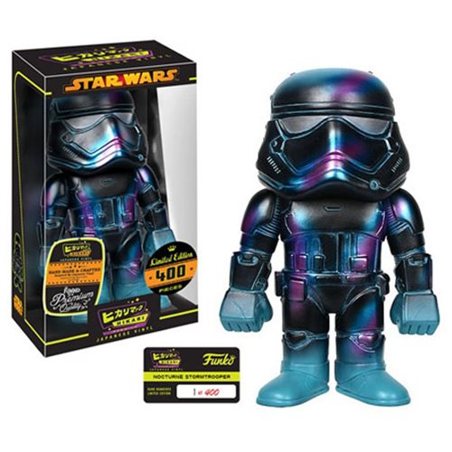 Preview of the new Star Wars Nocturn First Order Stormtrooper Hikari Sofubi Vinyl by Funko!