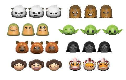 Previews of the upcoming Star Wars MyMojis by Funko